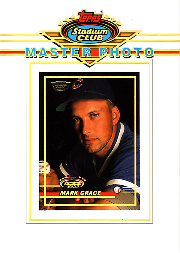 1993 Stadium Club #NN Master Photo Member's Only Jumbo