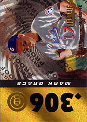 1996 Pinnacle #191 .300 Series Starburst Artist's Proof