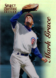 1996 Score Select Certified #94 Mirror Blue 1 of 45