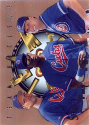 1996 Score Select #15 Team Nucleus with Sammy Sosa, Ryne Sandberg
