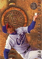 1996 Ultra #11 Prime Leather Gold Medallion