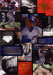 1996 Pinnacle Zenith #6 Mosaics with Ryne Sandberg, Sammy Sosa