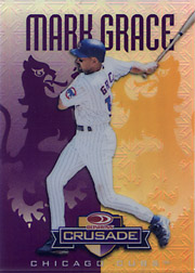 1998 Donruss #60 Donruss Crusade Purple SN#050/100