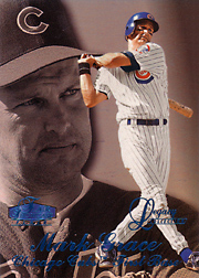 1998 Flair Showcase #113 Row 3 Legacy SN#098/100