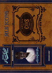 2004 Playoff Prime Cuts II #MLB-27 MLB Icons Century Blue SN#1/1