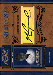 2004 Playoff Prime Cuts II #MLB-27 MLB Icons Silver Autograph SN#1/1