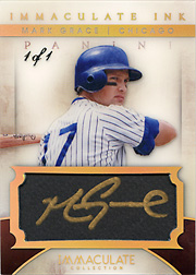 2014 Panini Immaculate #4 Immaculate Ink Platinum Auto SN#1/1