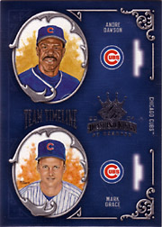 2004 Donruss Diamond Kings #TT8 Team Timeline with Andre Dawson