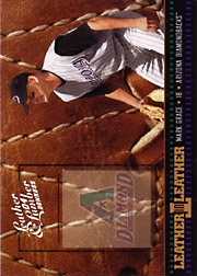 2004 Donruss Leather & Lumber #LEL-27 Leather in Leather Spectrumr SN#048/100