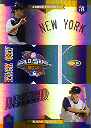 2004 Donruss World Series #FO-3 Face Off with Jorge Posada HoloFoil #15/25