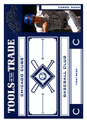 2004 Playoff Absolute Memorabilia #TT-88 Tools of the Trade Blue SN#246/250