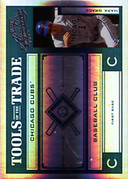 2004 Playoff Absolute Memorabilia #TT-88 Tools of the Trade Green Spectrum SN#36/50