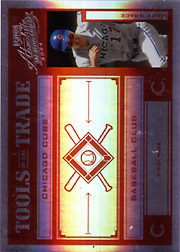 2004 Playoff Absolute Memorabilia #TT-88 Tools of the Trade Red Spectrum SN#017/100