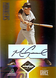 2004 Leaf Limited #214 Monikers Gold Autograph SN#04/25