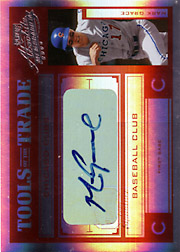 2004 Playoff Absolute Memorabilia #TT-88 Tools of the Trade Red Spectrum Autograph SN#2/5