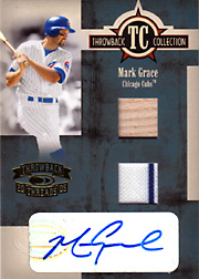 2005 Donruss Throwback Threads #TC-17 Throwback Collection Bat/Jersey/Autograph SN#11/25