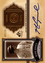 2005 Upper Deck SP Legendary Cuts #CC-MG Classic Careers Autograph Gold SN#02/10