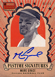 2013 Panini America's Pastime Pastime Signatures #GR Gold SN#08/15
