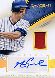 2014 Panini Immaculate Collection #9 Patch/Auto SN#14/15