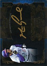 2015 Topps Five Star Golden Graphs Auto #GG-MG Gold Ink Blue SN#05/20