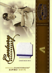 2004 Donruss Throwback Threads #CC-56 Century Collection Jersey SN#229/250