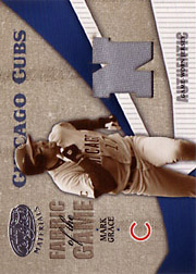 2004 Leaf Certified Materials #FG74 Fabric of the Game Jersey N SN#033/100