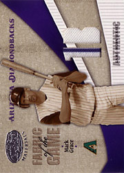 2004 Leaf Certified Materials #FG178 Fabric of the Game Jersey 1B SN#090/100