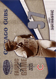 2004 Leaf Certified Materials #FG74 Fabric of the Game Jersey 97 SN#23/77