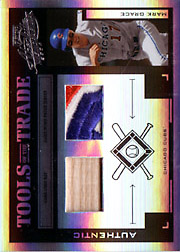 2004 Playoff Absolute Memorabilia #TT-88 Tools of the Trade Black Spectrum Bat/Patch SN#17/25