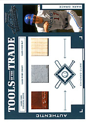 2004 Playoff Absolute Memorabilia #TT-88 Tools of the Trade Green Glove/Jersey/Bat SN#12/25