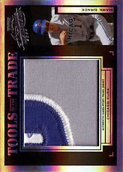 2004 Playoff Absolute Memorabilia #TT-88 Tools of the Trade Black Spectrum Jumbo Patch SN#1/1