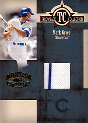 2005 Donruss Throwback Threads #TC-17 Throwback Collection Jersey SN#030/250