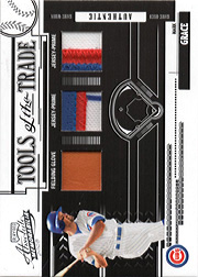 2005 Playoff Absolute Memorabilia #TT-83 Tools of the Trade Black Glove/Patch/Patch SN#07/10