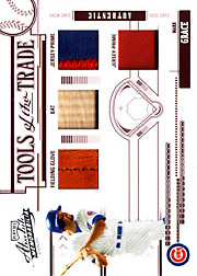 2005 Playoff Absolute Memorabilia #TT-83 Tools of the Trade Red Glove/Bat/Dual Patches SN#10/10