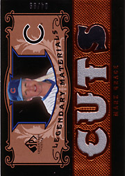 2007 Upper Deck SP Legendary Cuts #LM-MG Materials 3 Swatch Game Jersey SN#04/99